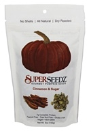 SuperSeedz - Gourmet Pumpkin Seeds Cinnamon & Sugar
