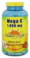 Nature's Life - Mega C 1000 mg. -