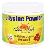 Nature's Life - L-Lysine Powder - 200 Grams