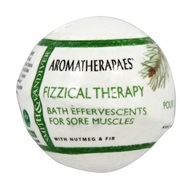 Aromatherapaes - Effervescents Fizzical Therapy Bath with Nutmeg
