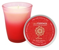 RareEssence - Aromatherapy Spa Candle Love Red -