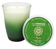 RareEssence - Aromatherapy Spa Candle Hope Dark Green