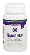D'Adamo Personalized Nutrition - Genoma Nutritionals Phyto D