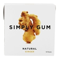 Simply Gum - All Natural Gum Ginger -