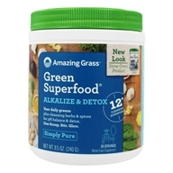 Amazing Grass - Green Superfood Alkalize & Detox - 8.5 oz.