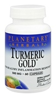 Planetary Herbals - Turmeric Gold 500 mg. -
