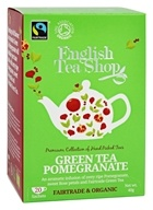 English Tea Shop - Organic Green Tea Pomegranate