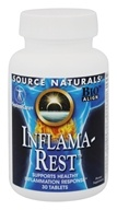 Source Naturals - Inflama-Rest - 30 Tablets