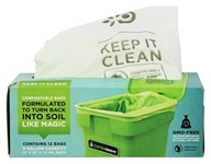 CompoKeeper - Compostable Bags 6 Gallon Capacity - 12 Bags