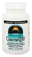 Source Naturals - Coenzyme Q10 400 mg. -