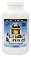 Source Naturals - Vegetarian Rejuvenzyme - 500 Capsules