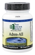 Ortho Molecular Products - Adren-All - 60 Capsules