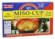 Edward & Sons - Miso-Cup Reduced Sodium Soup