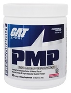 GAT - PMP Peak Muscle Performance Pre-Workout Raspberry