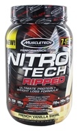 Muscletech Products - Nitro Tech Ripped Performance Series
