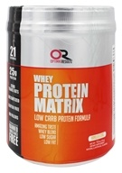 Optimal Results - Whey Protein Matrix Vanilla Icing