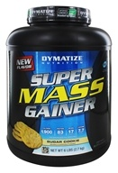Dymatize Nutrition - Super Mass Gainer Sugar Cookie
