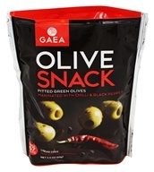 Gaea - Olive Snack Chili and Black Pepper