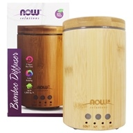 NOW Foods -Diffuseur d'huiles ultrasons bambou real
