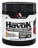 American Metabolix - HavoK Pre-Workout Lemon Punch 30