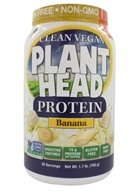 Genceutic Naturals - Plant Head Protein Banana -