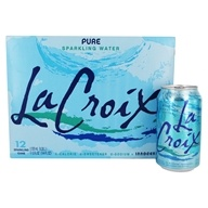 LaCroix - 100% Natural Sparkling Water Pure -
