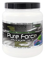 Maximum Nutrition - Pure Force Amino Blue Raspberry