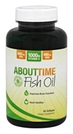 About Time - Fish Oil - 60 Softgels