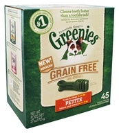 Greenies - Dental Chews For Dogs Grain Free
