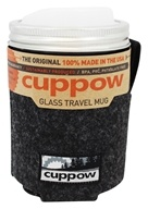 Cuppow - Glass Travel Mug Wide Mouth with