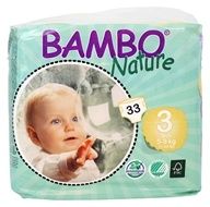Bambo Nature - Baby Diapers Stage 3 Midi