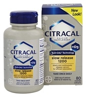 Bayer Healthcare - Citracal Calcium + D3 Slow