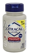 Bayer Healthcare - Citracal Calcium + D3 Maximum