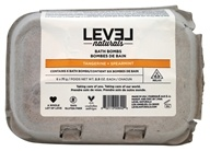 Level Naturals - Bath Bombs Tangerine + Spearmint