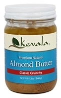 Kevala - Premium Natural Almond Butter Classic Crunchy