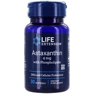 Life Extension - Astaxanthin with Phospholipids 4 mg.