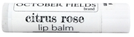 October Fields - Lip Balm Citrus Rose -