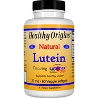 Healthy Origins - Lutein 20 mg. - 60