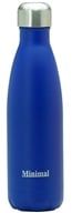 Minimal - Insulated Water Bottle Blue - 17 oz.
