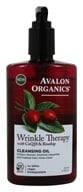 Avalon Organics - Wrinkle Therapy Cleansing Oil with