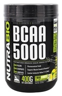 NutraBio - BCAA 5000 Lemon Lime - 0.8