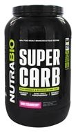 NutraBio - Super Carb Kiwi Strawberry - 3.7