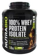 NutraBio - 100% Whey Protein Isolate Dutch Chocolate