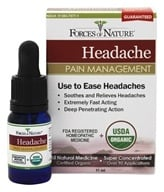 Forces of Nature - Headache Pain Management - 11 ml.