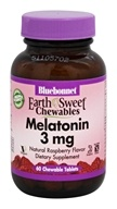 Bluebonnet Nutrition - EarthSweet Chewables Melatonin Natural