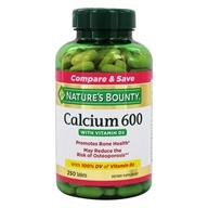 Nature's Bounty - Calcium 600mg with Vitamin D3