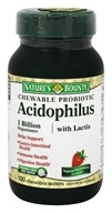 Nature's Bounty - Acidophilus with Lactis Natural Strawberry