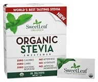 SweetLeaf - Organic Stevia Sweetener - 35 Packet(s)