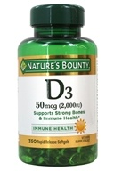 Nature's Bounty - Super Strength Vitamin D3 2000