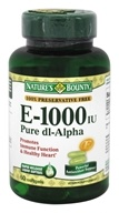 Nature's Bounty - Vitamin E 1000 IU -